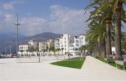 Tivat, Porto Montenegro, Montenegro stock fotografie