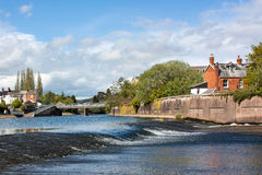 Tiverton Mid Devon England Stock Image
