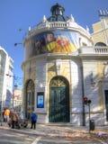 Tivoli,里斯本,葡萄牙 免版税库存照片