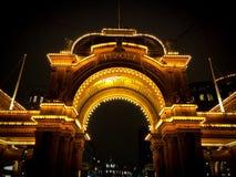 Tivoli alla notte Fotografia Stock Libera da Diritti