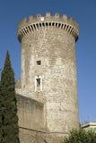 Tivoli Castle, or Castle of Rocca Pia, built in 1461 by Pope Pius II, Tivoli, Italy, Europe Stock Photo