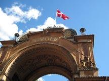 Tivoli-Eingang Lizenzfreies Stockfoto