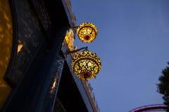Tivoli en Copenhague Dinamarca en el verano Fotos de archivo