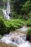 Tivoli. Falls on Gregorian Villa Stock Image