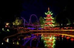 Tivoli Gärten Stockfotos
