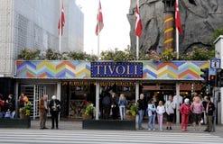 TIVOLI GARDEN Stock Photography
