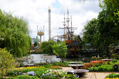 Tivoli garden Stock Photo