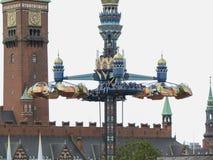 Tivoli Gardens in Copenhagen Royalty Free Stock Photography