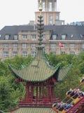 Tivoli Gardens in Copenhagen Royalty Free Stock Image