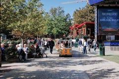 Tivoli Gardens, COPENHAGEN, DENMARK. Royalty Free Stock Images