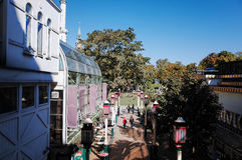 Tivoli Gardens, COPENHAGEN, DENMARK. Stock Image