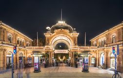 Tivoli Gardens Royalty Free Stock Photo