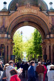 Tivoli Gardens entrance, Copenhagen Royalty Free Stock Photo
