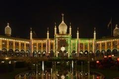 Tivoli Gardens at night Stock Photography