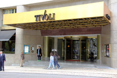 Tivoli Hotel Royalty Free Stock Images