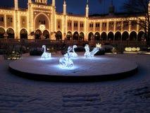 Tivoli Köpenhamn Royaltyfri Fotografi
