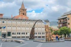 TIVOLI, LAZIO, ITALIË Royalty-vrije Stock Afbeelding