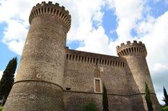 tivoli rocca pia Италии стоковые фото