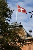 TIVOLI TRÄDGÅRD I KÖPENHAMNEN DANMARK royaltyfria foton