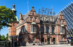 Tivoli-Tuinen Copenhaguen Stock Fotografie