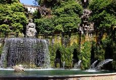 Tivoli. Villa d Este. Fountain Royalty Free Stock Image