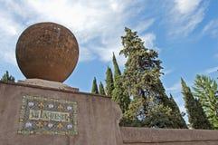 Tivoli, Villa d'Este ingang Stock Fotografie