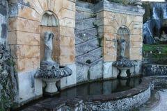 Tivoli-villa van hoofdIppolito D ` Este, Italië Royalty-vrije Stock Foto's