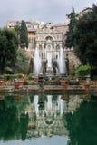 TIVOLI WŁOCHY, STYCZEŃ, - 28, 2010: Fontana dell'Organo Fotografia Royalty Free