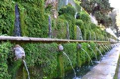 Tivoly. Italien. Fotografering för Bildbyråer