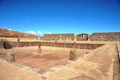 Tiwanaku Στοκ εικόνα με δικαίωμα ελεύθερης χρήσης