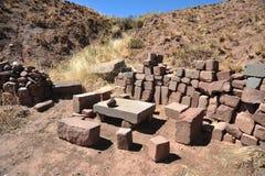 Tiwanaku stockbild