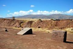 Tiwanaku lizenzfreie stockfotos