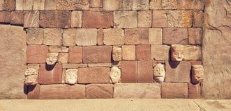 Tiwanaku Zdjęcia Stock
