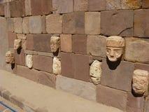 Tiwanaku, Altiplano, Bolivia Immagini Stock Libere da Diritti