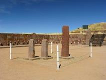 Tiwanaku, Altiplano, Bolivia Stock Photo