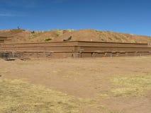 Tiwanaku, Altiplano, Bolivia Stock Images
