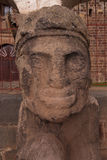 Tiwanaku Culture Statue Royalty Free Stock Photo