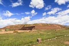 Tiwanaku Heritage in Bolivia Royalty Free Stock Photography