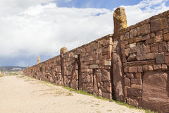 Tiwanaku Heritage in Bolivia Stock Images