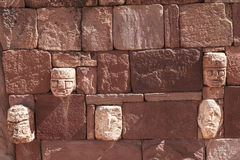 Tiwanaku Heritage in Bolivia Royalty Free Stock Photography