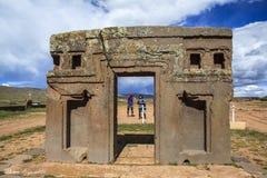 Free Tiwanaku Heritage In Bolivia Royalty Free Stock Image - 91102786