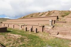 Free Tiwanaku Heritage In Bolivia Royalty Free Stock Photography - 91104977