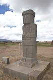 Tiwanaku oder Tiahuanaco Stockfotografie
