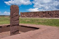 Tiwanaku Ruinas en Bolivia, Fotos de archivo