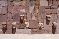 Tiwanaku Ruines en Bolivie, Photo libre de droits