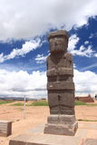 Tiwanaku Ruins, La Paz royalty free stock images