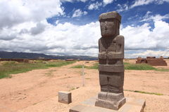 Tiwanaku Ruins, La Paz Royalty Free Stock Image