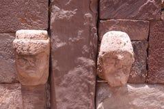 Tiwanaku Ruins, La Paz Royalty Free Stock Photography