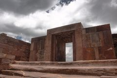 Tiwanaku Ruins, La Paz Stock Photos