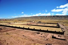 Tiwanaku Royalty Free Stock Photos